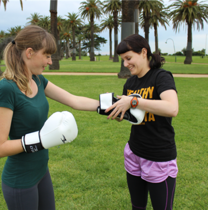 Body Positive Health and Fitness Outdoor Boxing Sessions tina