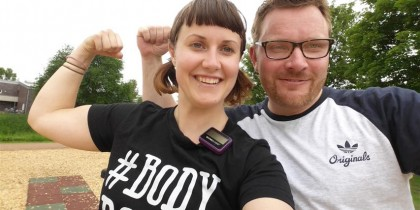 Body Positive Outdoor Fitness rene in St Kilda park