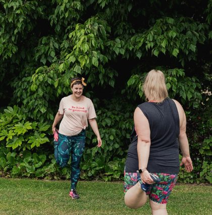Body Positive Health and Fitness Mobile Kettlebell Training emily